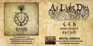 GEA EP finally will be released by Brutal Arratia Records