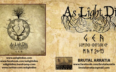 10th As Light Dies ‪#‎geaep2015‬ review (Metal Korner, ES) (8/10)